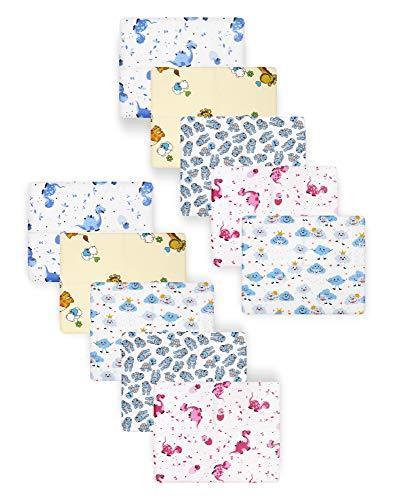 Be Mammy Baby Windelsets Stoffwindeln Mulltücher 80x80 cm 10er Pack BESD003 (Mädchen2 (10 Pack), 80x80)