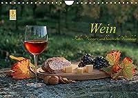 Wein - Reben, Wingerte und historische Weinkeller (Wandkalender 2022 DIN A4 quer): Herrliche Weinlandschaften, Historische Weinkeller, edle Weine (Monatskalender, 14 Seiten )