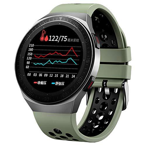 ZGNB MT3 Music Music Men's Smart Watch 8G Memory Bluetooth Llamada Pantalla Táctil Completa Función De Grabación Impermeable MT2 MT-3 Moda Smartwatch (para iOS Android),B