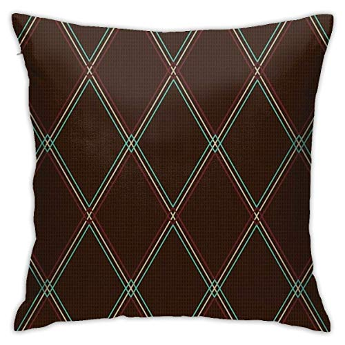 YPPDPP Vox-Style Vintage Amplifier Grill Cloth Square/Platz kissenhülle Pillow Cases Kissenbezug Throw Pillow Cover Home Bed Room Interior Dekorativ kopfkissenbezug