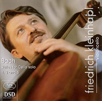 Bach, J.S: Cello Suites Nos. 1, 3 and 5