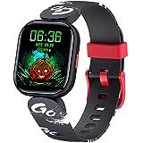 DIGEEHOT Fitness Tracker per Bambini, Smartwatch Impermeabile IP68, Cardiofrequenzimetro, Monitor del Sonno, 19 Modalità sportive Orologio con Contapassi, Calorie, Regalo per Bambini