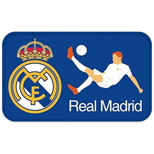 ARDITEX RM13731 Alfombra de Habitación súper Suave de 45x75cm de Clubs-Real Madrid CF
