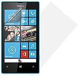 Hülleit Bildschirmschutzfolie Screen Protector für Microsoft Lumia 435 im Set - Transparent Klar (Doppelpack)