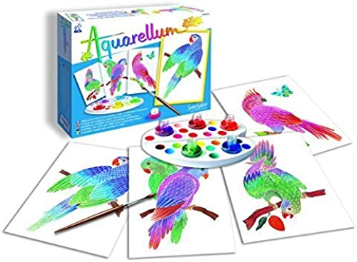 Sentosphere Aquarellum Junior Parrots Arts and Crafts WaterFarbe Paint Set by Sentosphere