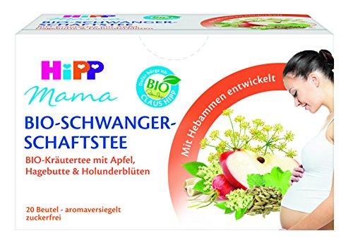 HiPP Mama Bio zwangerschapsthee, 6 stuks (6 x 30 g)