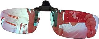 色盲メガネ色盲矯正メガネクリップオン赤/緑色盲用レンズ - 、穏健派強く、重度Deutanと適度な、強いProtan
