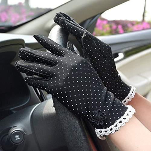 Loe Moda fina guantes puntos verano anti-patín sol guantes de primavera y...