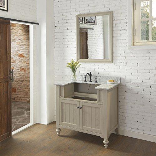 Fairmont Designs 1524-FV36 Crosswinds 36 Farmhouse Vanity Base Cabinet Only in Slate Gray