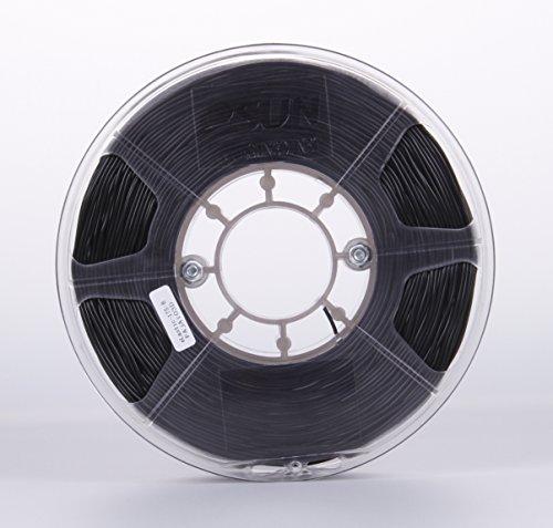 eSUN 1.75mm Elastic TPE 3D Printer Filament 1KG Spool (2.2lbs), Black