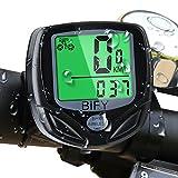 BIFY Fahrradcomputer Kabellos 16 Funktionen wasserdichte LCD Geschwindigkeit Fahrradtacho Radcomputer Tacho