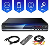 Sandoo DVD Player, All Region DVD CD/Disc Player For TV With HDMI/AV output,...