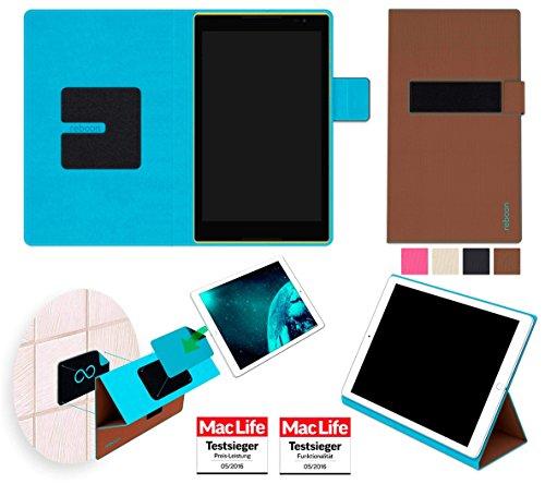 Hülle für Lenovo Tab S8 Tasche Cover Hülle Bumper | in Braun | Testsieger