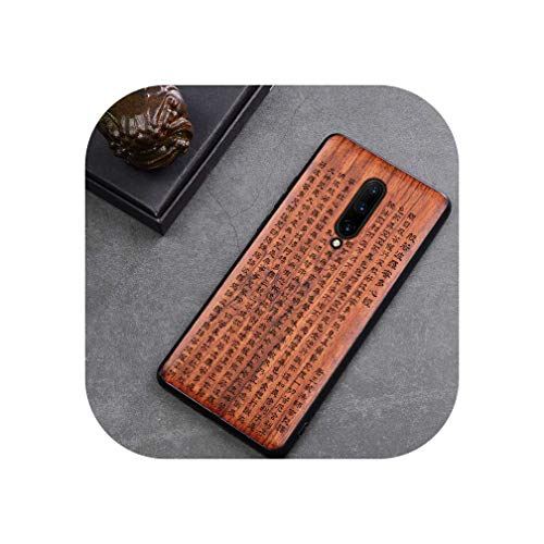 Oneplus 7 Pro Funda de madera Oneplus 7 de palisandro TPU a prueba de golpes, carcasa trasera para teléfono One Plus 7 Pro, para Oneplus 7 Pro, color 11