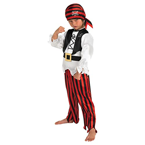 Ages 3-5 Childrens Pirate Outfit