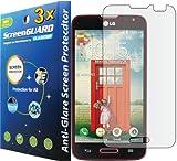 3x LG Optimus L70 D325 MS323 (MetroPCS) Premium Anti-Glare Anti-Fingerprint Matte Finishing LCD Screen Protector Guard Shield Cover Kits. (GUARMOR Brand)