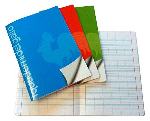 4 Quaderni Speciali per disgrafia e dislessia a righe di prima (A)