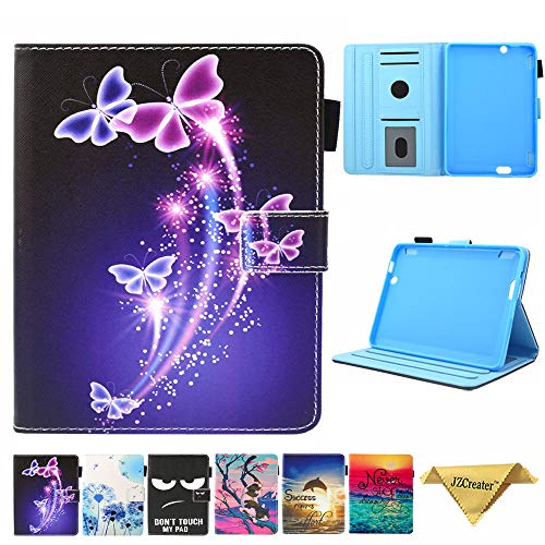 Folio Case for Fire HDX 7 2013 Old Model - JZCreater Slim Fit Leather Standing Cover with Auto Sleep/Wake for Amazon Kindle Fire HDX 7.0 Inch 3rd...