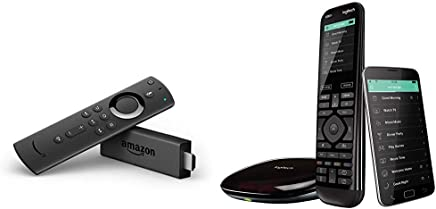 6d675ff764b Logitech Harmony Elite Advanced TV and Home Entertainment Remote Control,  Hub and App, Works
