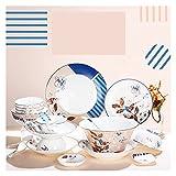 ZWJ Copas y platillos Set Nordic Ceramic Laboration Traje de...