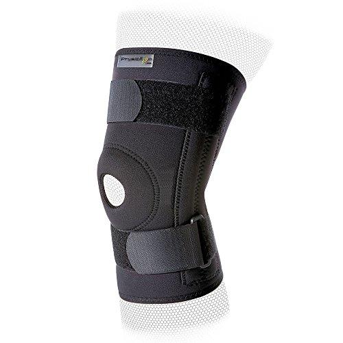 Physioroom Stabilisierende Neopren-Kniebandage - Aussparung um die Kniescheibe - Groß