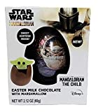 Star Wars The Mandalorian Easter Milk Chocolate Ball filled with Surprise The Child Marshmallow Treat, 2.12 Ounce
