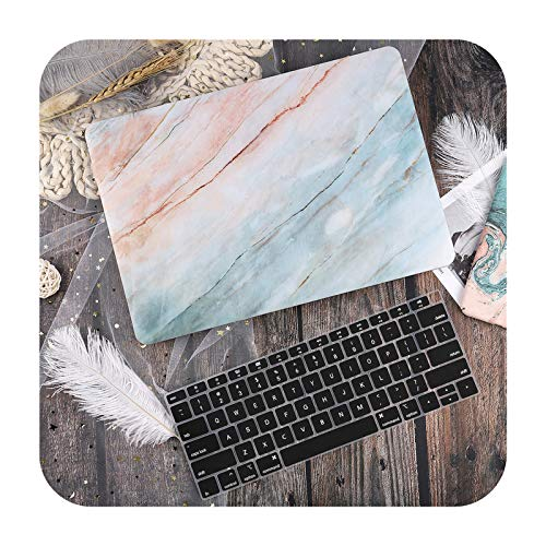 Marble Flower Pattern Laptop Case Keyboard Cover for New MacBook Pro 13 2020 A2338 Air 13.3 15 inch Retina Touch Bar A2251 A1932-J343-A1706 A1989 A2159