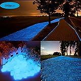 200 Piezas Piedras Luminosas Azul, 200 Piezas Piedras Decorativas...