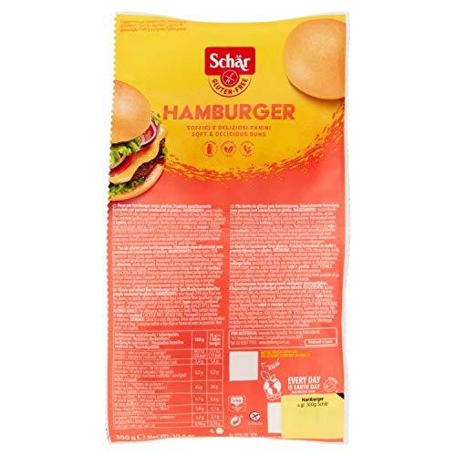 Dr. Schar Pan de Hamburguesa sin Gluten, 300g