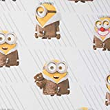 Hans-Textil-Shop Stoff Meterware Minions im Winter