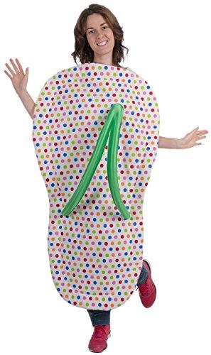 Disfraz de Chancla Arcoíris para adulto