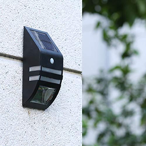 Double east Solarleuchte für Außen,LED Wireless wasserdichte Sicherheit Solarbewegungssensorleuchten für Terrasse, Deck, Hof, Garten