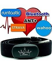 Berry King Heartbeat ANT+ & Bluetooth voor Garmin Wahoo Polar Runtastic Strava Endomondo Tomtom Apple iPhone borstband hartslagmeter HRM-sensor