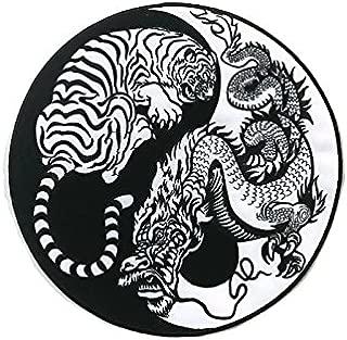 Large Back Patch l Yin Yang Dragon & Tiger