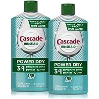 2-Count Cascade Power Dry Dishwasher Rinse Aid 16 Fl Oz