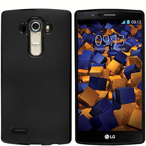 mumbi Hülle kompatibel mit LG G4 Handy Hülle Handyhülle, schwarz