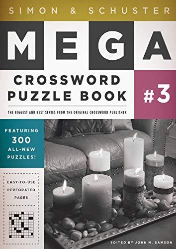 Simon & Schuster Mega Crossword Puzzle Book #3 (3) (S&S Mega Crossword Puzzles)