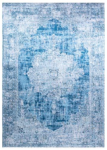 Vallila Alfombra Kajo 140x200 cm Azul, 140 x 200