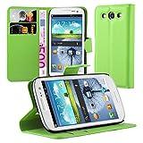 Cadorabo Custodia Libro per Samsung Galaxy S3 / S3 Neo in Verde Menta - con Vani di Carte, Funzione Stand e Chiusura Magnetica - Portafoglio Cover Case Wallet Book Etui Protezione