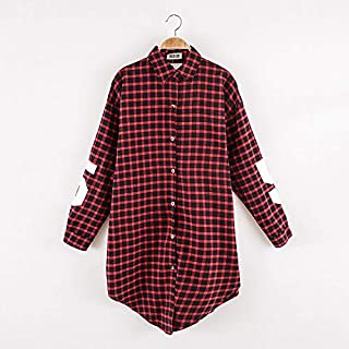 Riman Style Casual Plaid Shirt For Women, Multi Color, Free Size