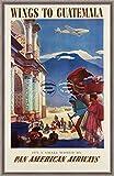 Herbé TM PAN American Air Guatemala Ryah- Poster /