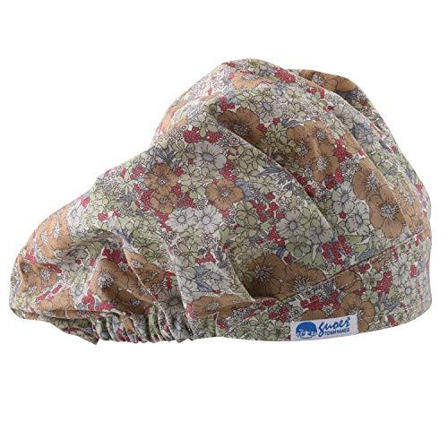 GUOER Hat Bouffant Cap One Size Multi Color (Color13)
