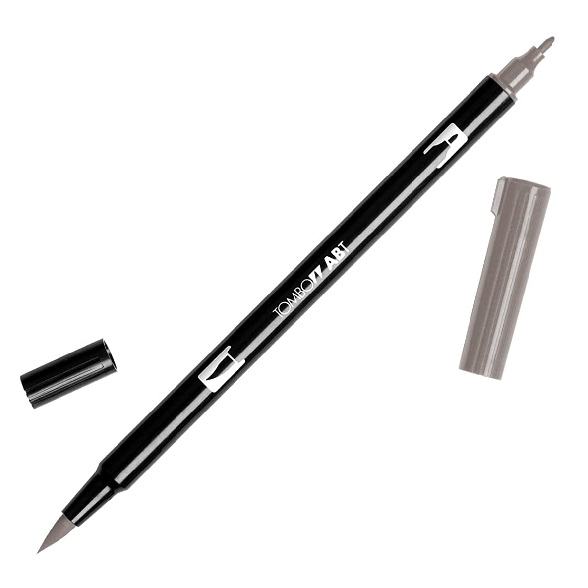 Tombow Dual Brush Pen Art Markers, Warm Gray 2 N79, 1-Pack