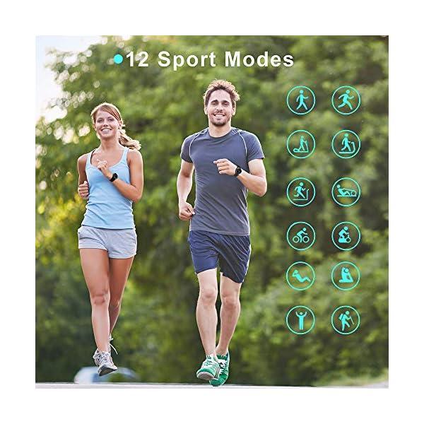 Blackview Smartwatch,Reloj Inteligentes Deportivo Fitness Tracker Hombre Mujer,Impermeable 5ATM Pulsera de Actividad… 8