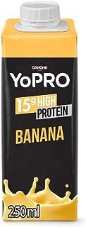 YoPRO Bebida Láctea UHT Banana 15g de proteínas 250ml