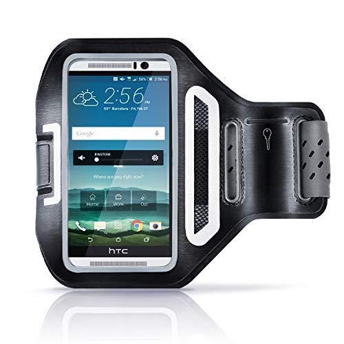 Sportarmband mit Schlüsselfach - für Smartphones mit bis zu 4,7 11,9cm - spritzwassergeschützt - schweißbeständig - für Samsung Galaxy S3 S4 HTC One LG Huawei