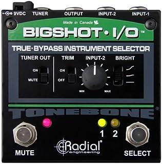 Tonebone Bigshot - Interruptor de Efectos para Guitarra (I/O), Color Negro