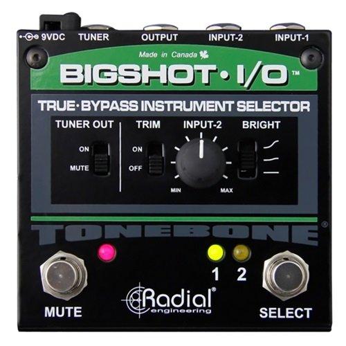 Tonebone BigShot I/O Guitar Effects Switcher - Black