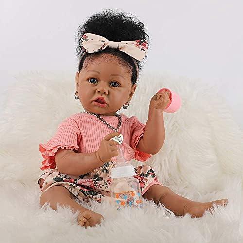 Reborn black baby doll _image1