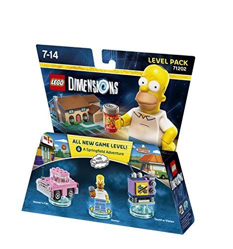 LEGO Dimensions - The Simpsons - Level Pack by Warner Bros. Interactive Entertainment
